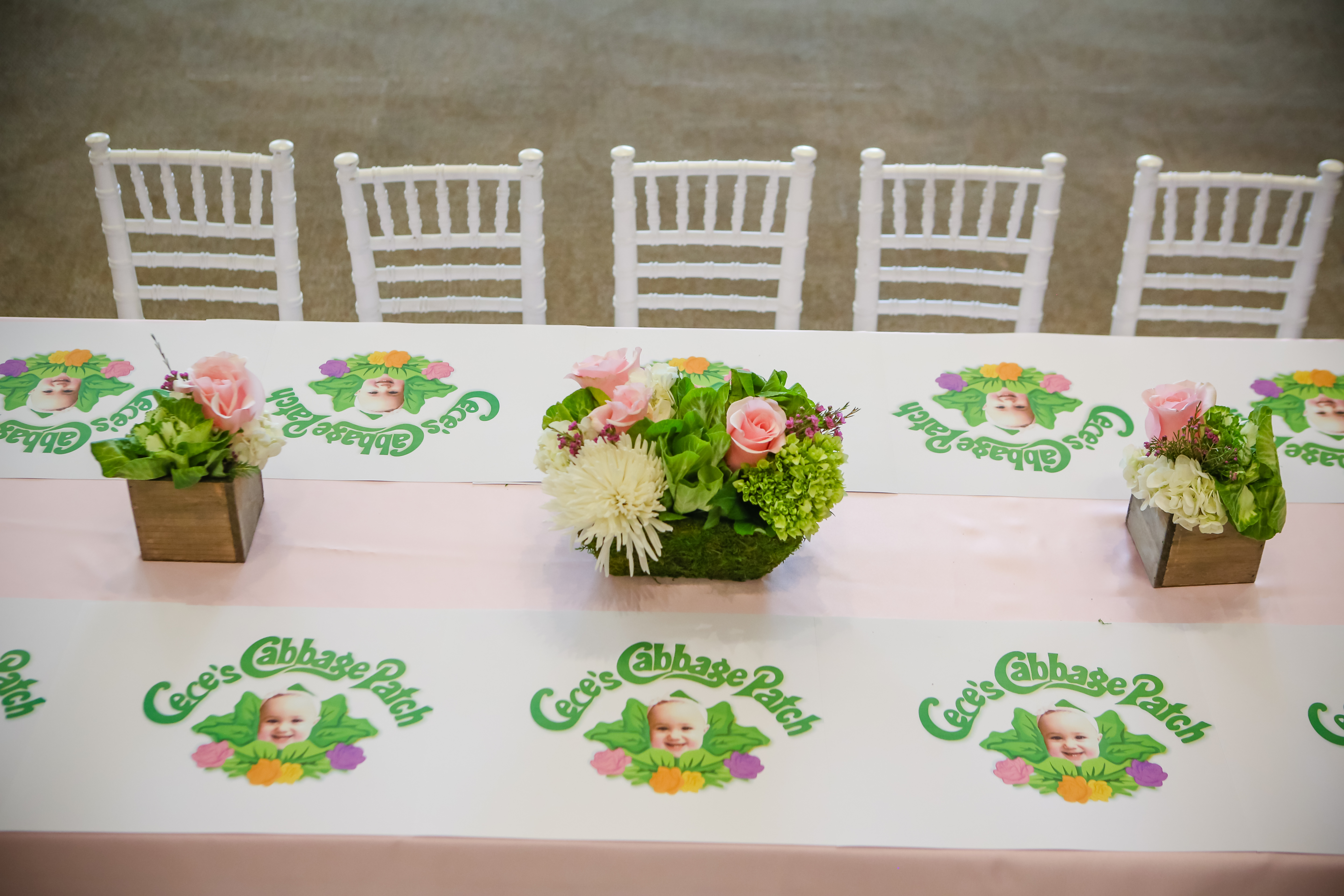 Cabbage patch birthday party